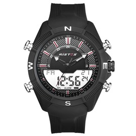 Ericdress Fashion 2018 New Style Silicone Strap Comfortable Sport Watch For Men