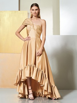 Ericdress A Line One Shoulder Asymmetry Evening Dress