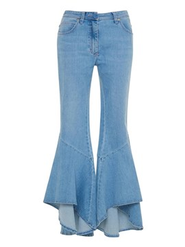 Ericdress Bellbottoms Slim Denim Women's Jeans