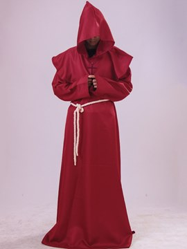 Ericdress Easter Falbala Plain Pastor Robe Costume