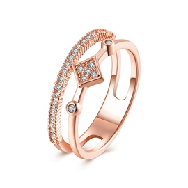 Ericdress Alloy Shine Diamante Ring For Women