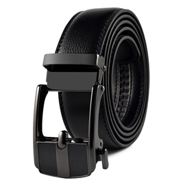 Ericdress Black Bussiness Men Belt