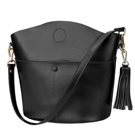 Ericdress Modern Barrel Shaped Zipper Crossbody Bag