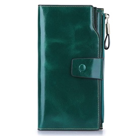 Ericdress Fashion Hasp Rectangle Long Wallet