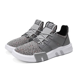 Ericdress Mesh Breathable Patchwork Lace-Up Men's Sneakers
