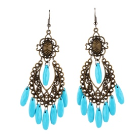 Ericdress Baroque Style Vintage Earrings