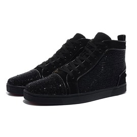 Ericdress Fashion Lace-Up High-Cut Men's Trainers