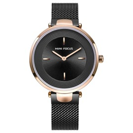 Ericdress Quartz Waterproof Steel Belt Watch For Women