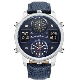 Ericdress JP Movement Double Dial Sports Men's Watch