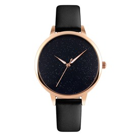 Ericdress Quartz Leather Band Women Watch