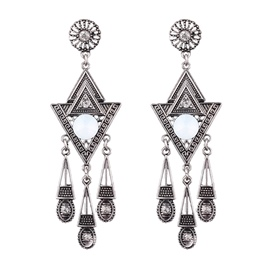 Ericdress Baroco Style Vintage Drop Earrings