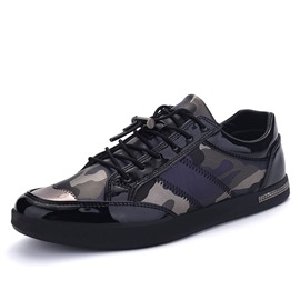 Ericdress Camouflage Patchwork Thread Men's Trainers