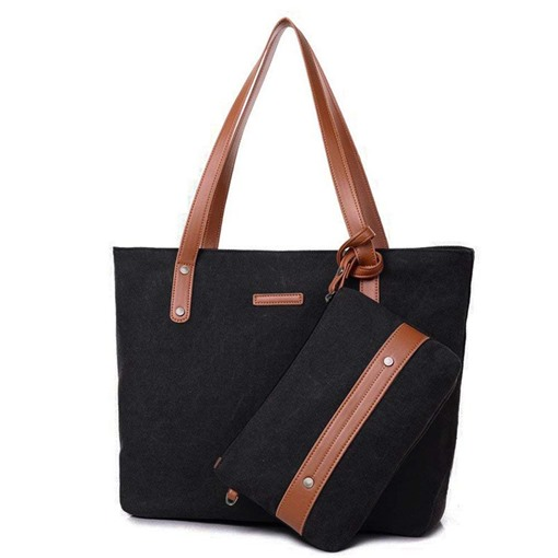 Ericdress Plain Barrel Shaped Soft Handbag