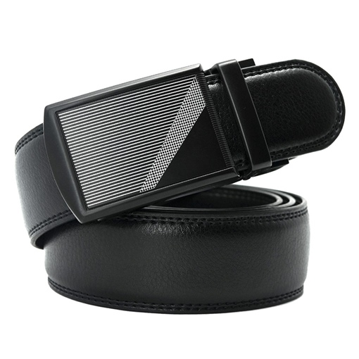Ericdress Leather Cover Alloy Buckle Men's Belt