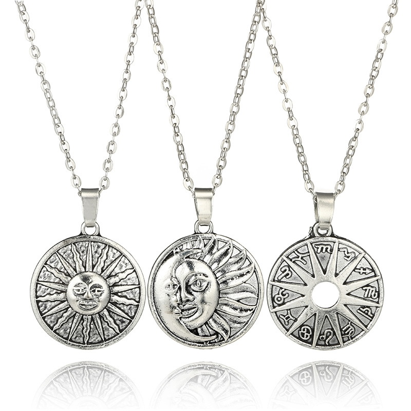 Ericdress Sun&Moon Multilayer Fashion Necklace