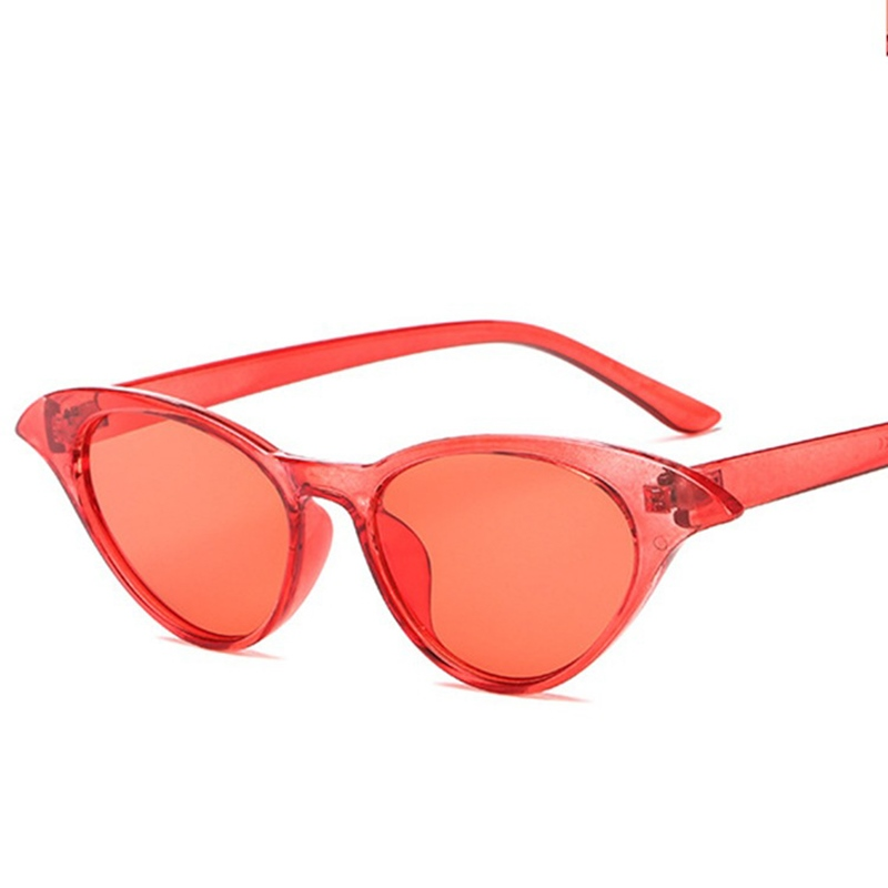 Ericdress 2018 Fashion Top Cat Eye Women Colour Luxury Flat Sunglasses UV400