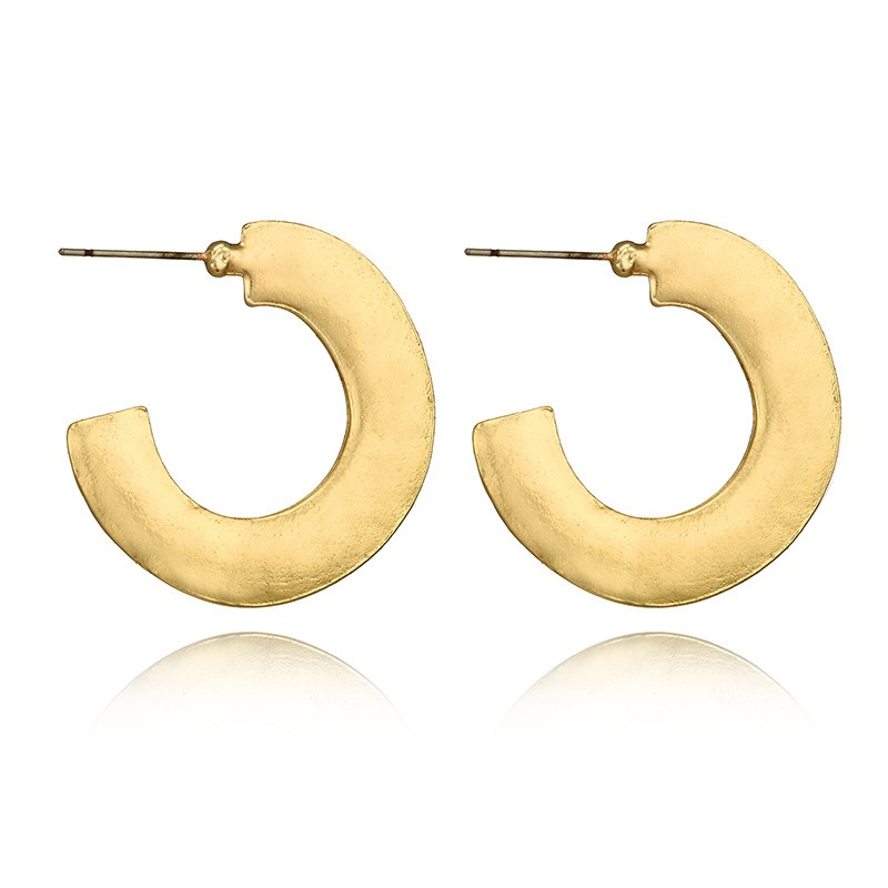 Ericdress Semicircle Alloy Fashion Earrings
