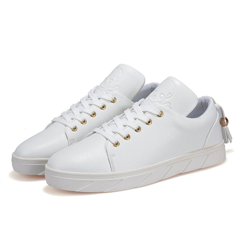 Ericdress Fashion PU Lace-Up Casual Men's Trainers