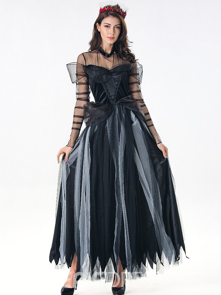 Ericdress Cotton Blends Halloween Costume Ghost Bride Dress
