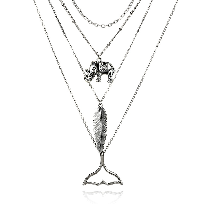 Ericdress Fishtail Bohe Style Charm Necklace