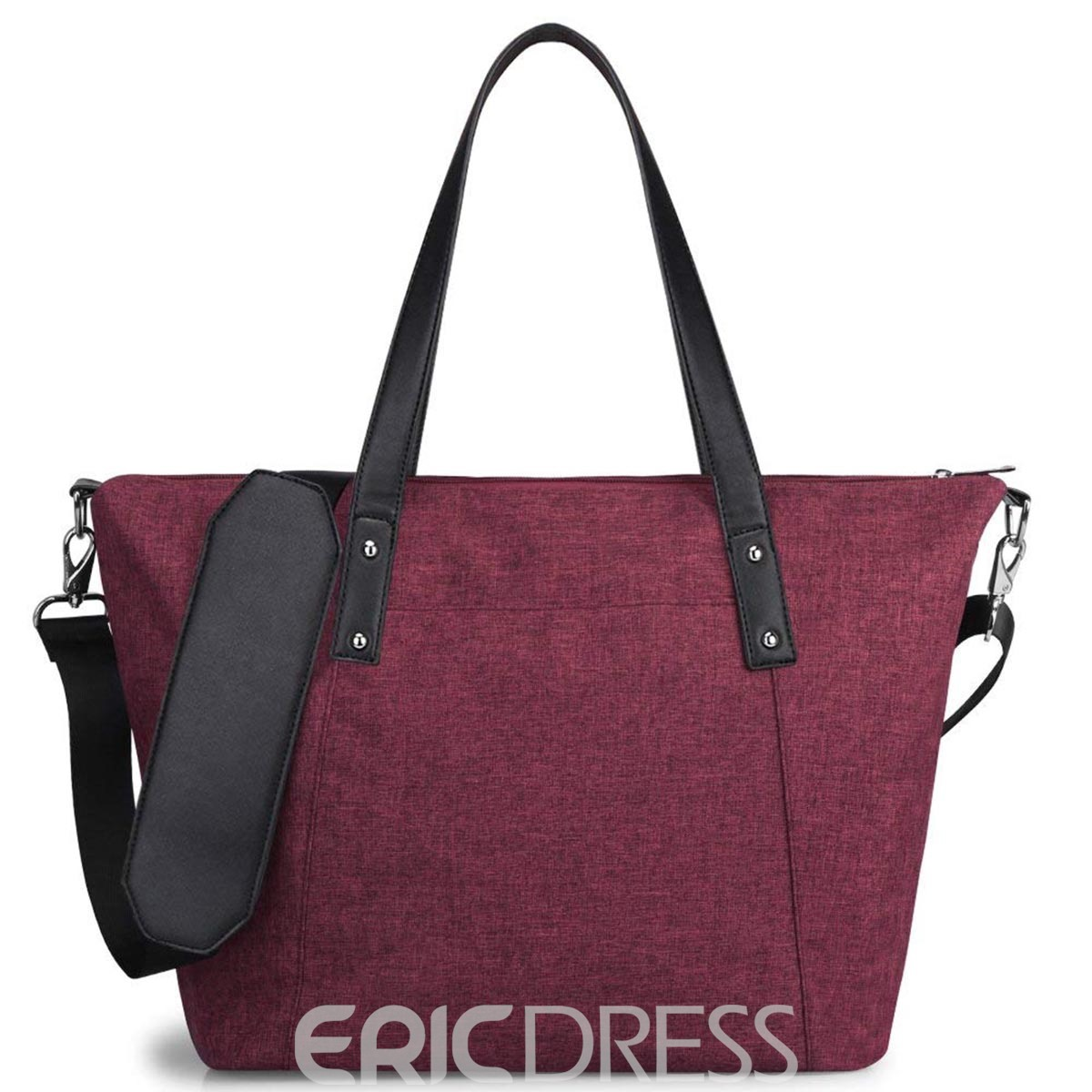 Ericdress Wear Resisting Zipper Shoulder Bag