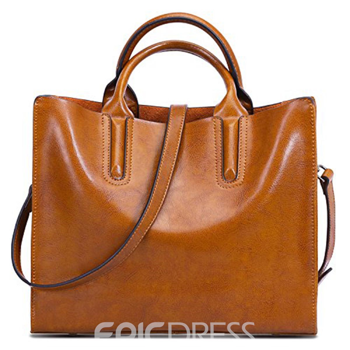 Ericdress Square Zipper Women Tote Bag