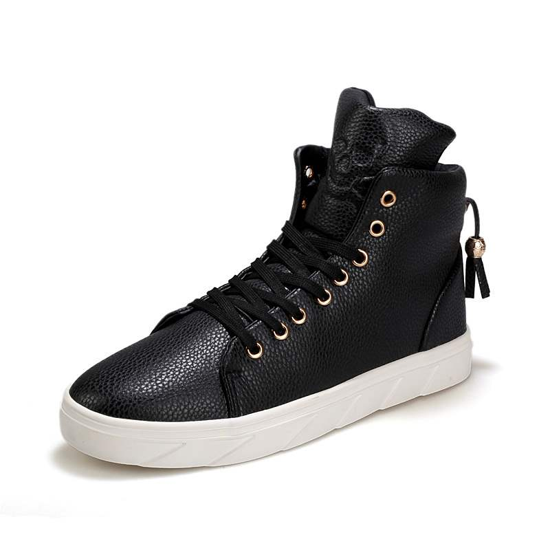 Ericdress Breathable Lace-Up High-Cut Men's Sneakers