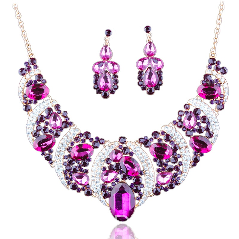 Ericdress Shining Gems Jewelry Set
