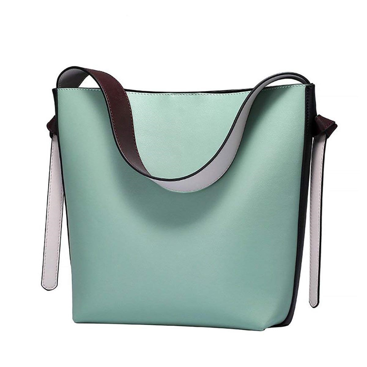 Ericdress PU Plain Belt Decorated Women Handbag
