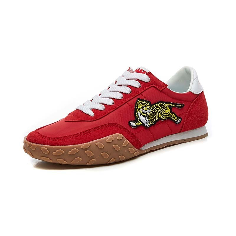 Ericdress Embroidery Animal Patchwork Lace-Up Men's Sneakers