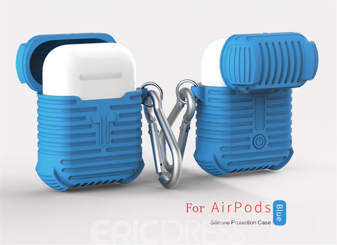 Ericdress Soft Siliconer Apple AirPods Cases