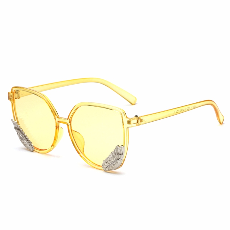 Ericdress Wing Square Sunglasses For Men/Women