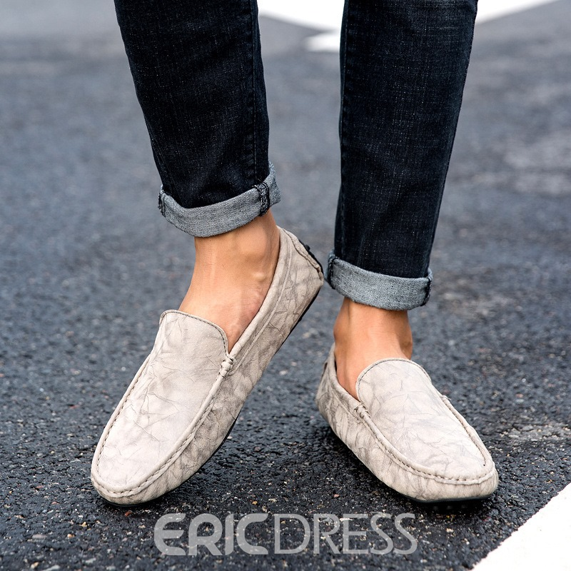 Ericdress Low-Cut Upper Men's Loafers