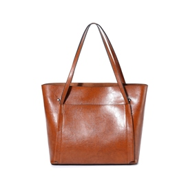 Ericdress Vintage Plain Soft PU Women Handbag