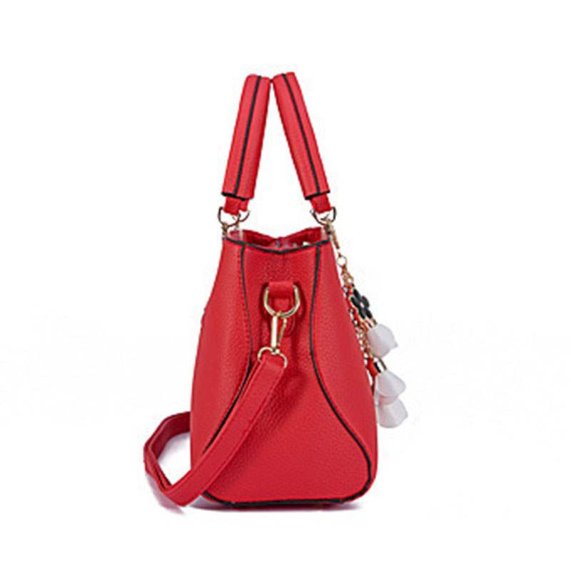Ericdress Thread PU Square Tote Bags