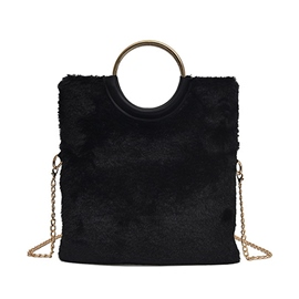 Ericdress Plain Thread Half Moon Tote Bags