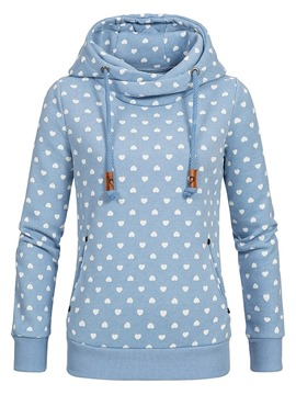 Ericdress Loose Casual Print Fleece Cool Hoodie