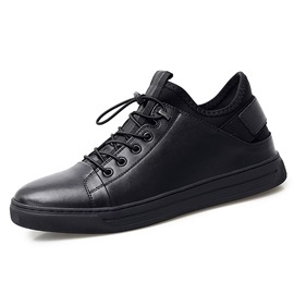 Ericdress PU Elastic Band Low-Cut Upper Men's Casual Shoes