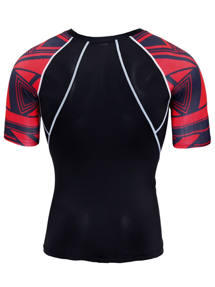 Ericdress Men Anti-Sweat Print Badminton Full Length Sports Sets
