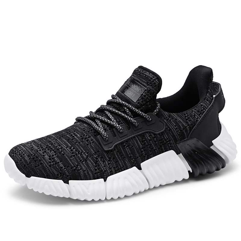 Ericdress Mesh Low-Cut Upper Lace-Up Men's Athletic Shoes