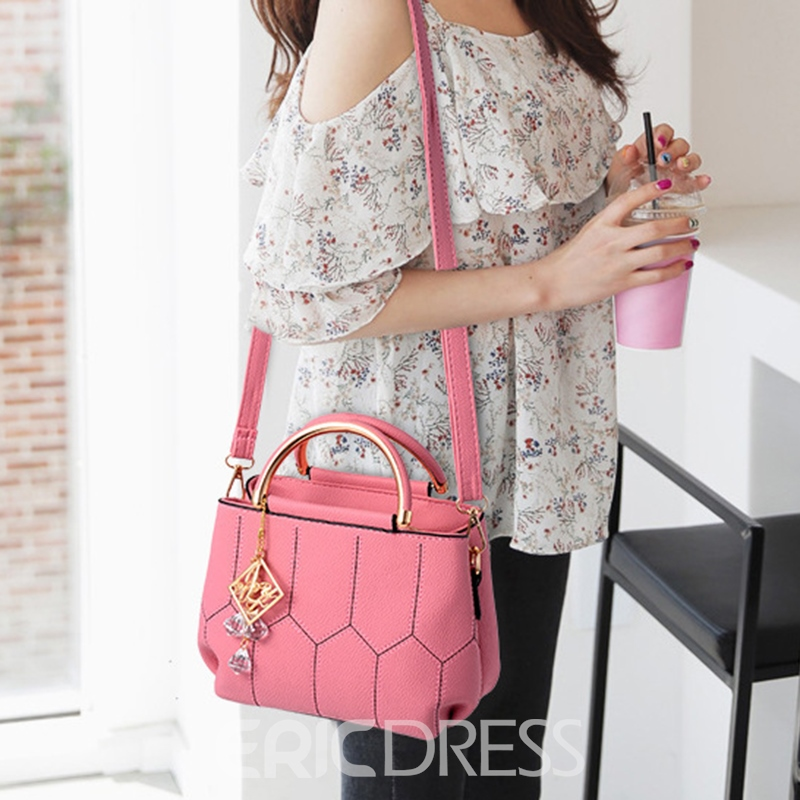 Ericdress PU Thread Square Tote Bags
