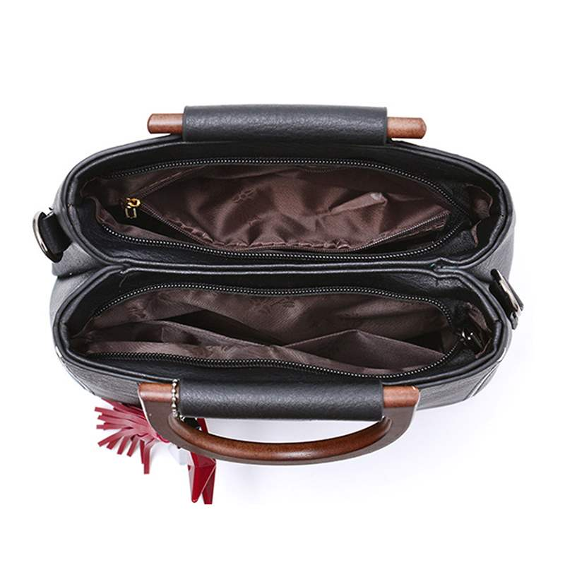 Ericdress Plain Thread Barrel-Shaped Women Hand Bags