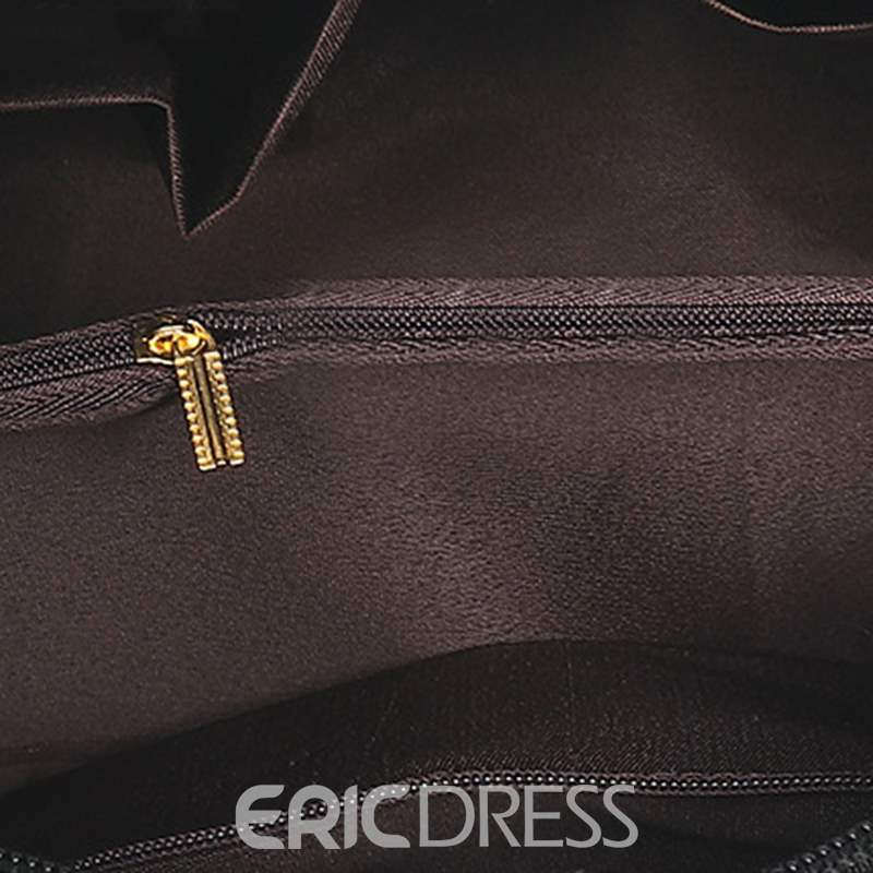Ericdress Casual PU Thread Pillow Tote Bags