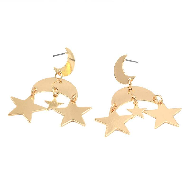Ericdress Alloy Star Earrings