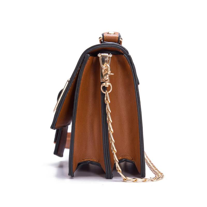 Ericdress Belt-Decorated Plain Rectangle Tote Bags