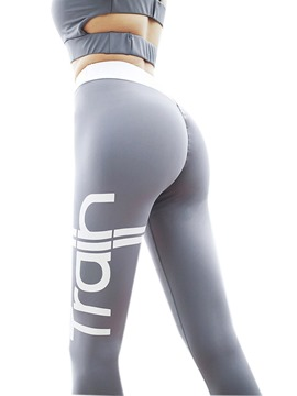 Ericdress Letter Breathable Sports Leggings