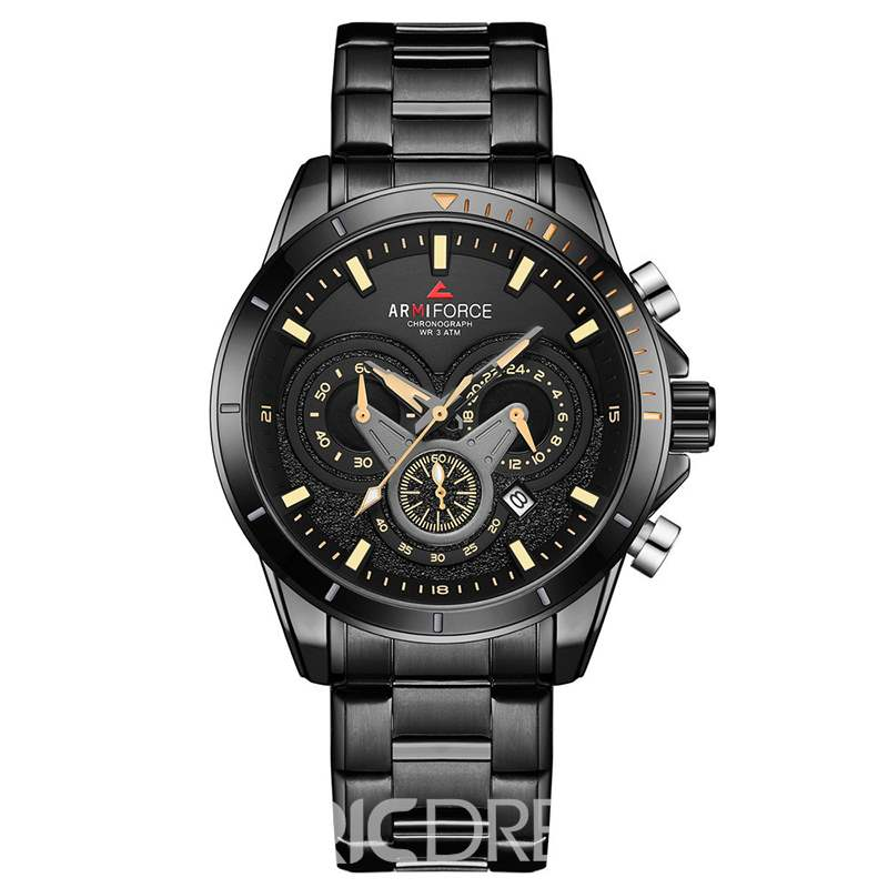 Ericdress Business Stainless Steel Men's Watches