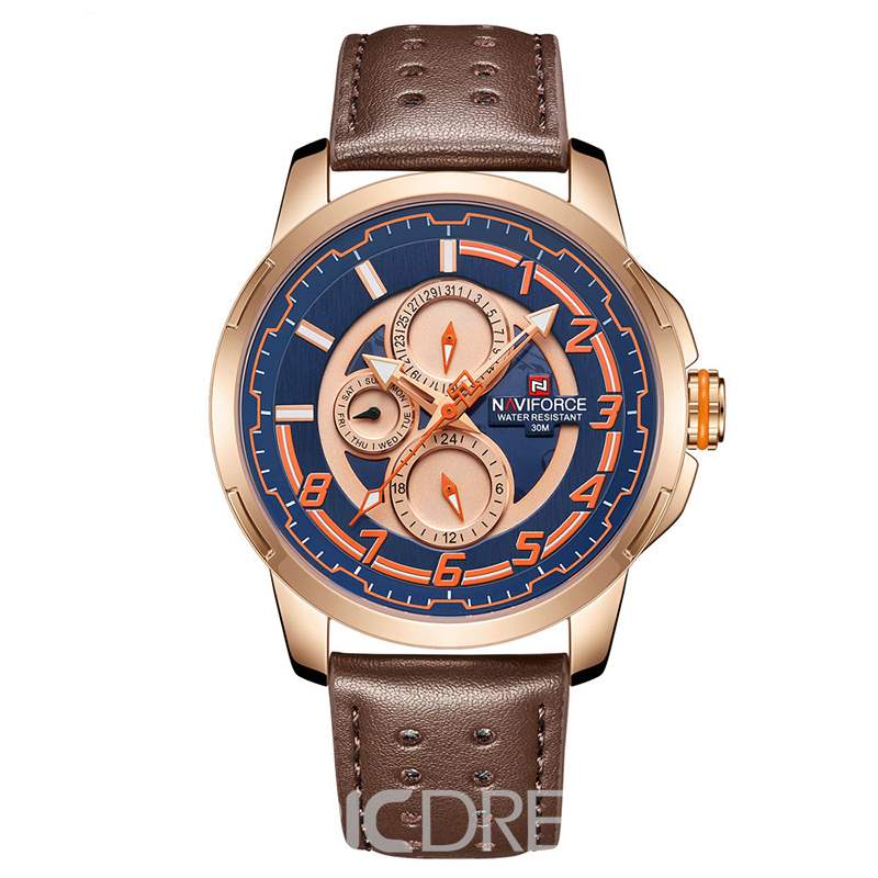 Ericdress Leather Alloy Men Watch
