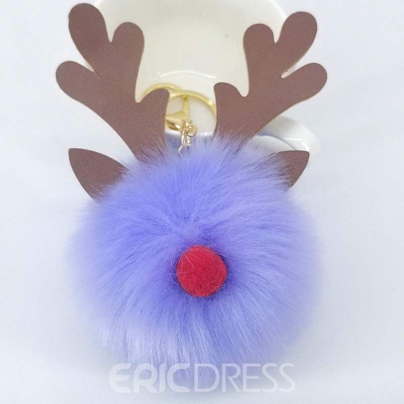 Ericdress Elk Nose Key Ring
