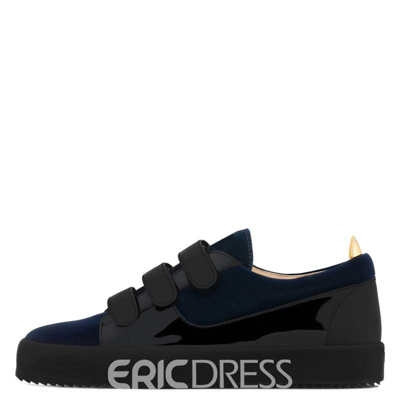 Ericdress Velcro Round Toe Low-Cut Upper Men's Shoes